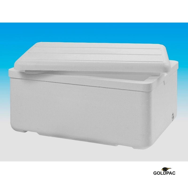 Caixa de isopor para transporte