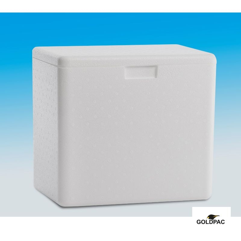 Caixa termica de isopor
