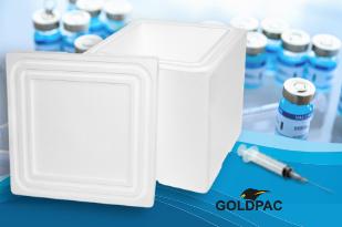 Caixa termica para transporte de vacinas