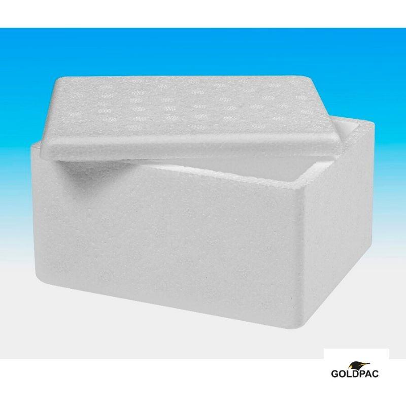 Caixas de isopor tamanhos e preços