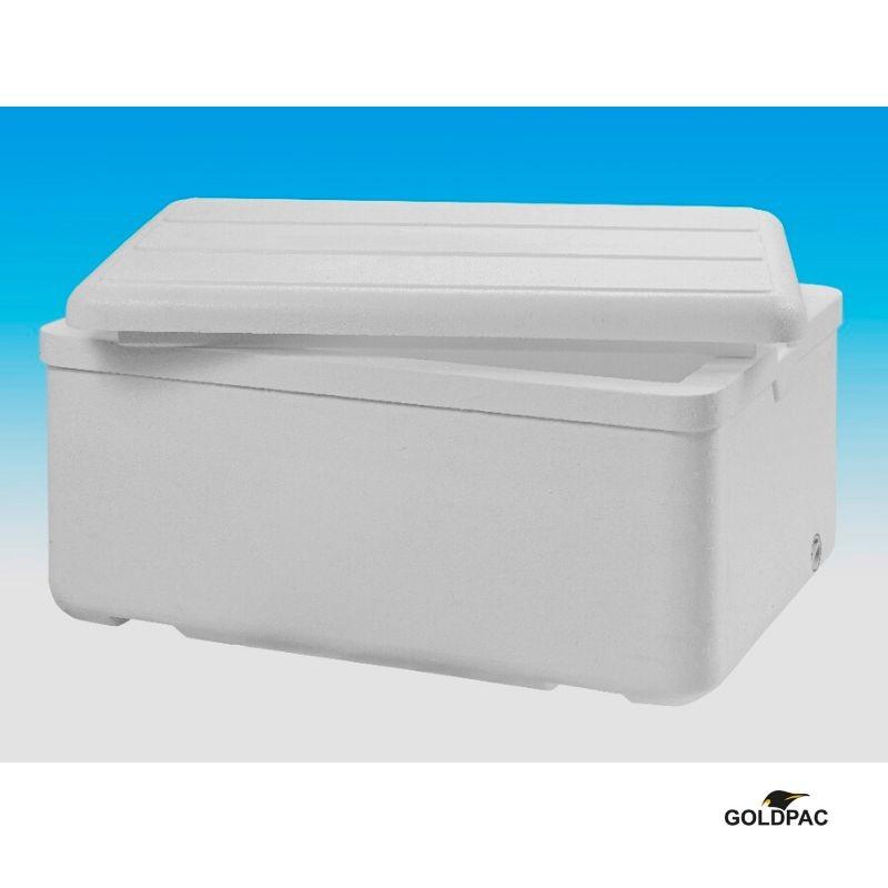 Caixas de isopor para transporte de alimentos